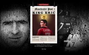 Picture wallpaper, sport, football, legend, Manchester United, player, Eric Cantona