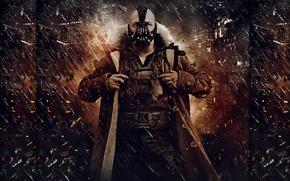 Picture batman, dark, bane, knight, rises