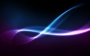 Wallpaper Glow, Glow, Line, Stream