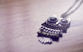 Picture owl, pendant, decoration