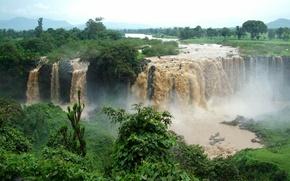 Picture Waterfall, Ethiopia, Blue Nile Waterfall