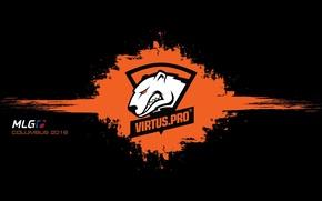 Picture logo, counter-strike, black background, csgo, virtus.pro, cs go, spot, virtus pro, mlg, virtuspro, Virtus, columbus