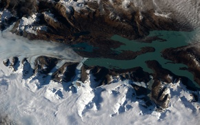 Picture space, earth, Patagonia