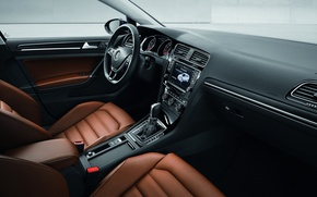 Picture Golf, leather, interior, hatchback