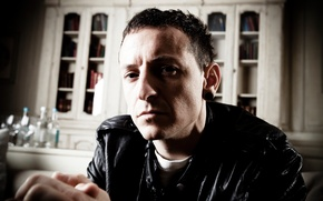 Wallpaper singer, linkin park, Chester Bennington