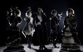 Wallpaper music group, Jasmin You, Teru, Versailles, Hizaki, Japan, Kamijo, Yuki