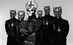 Picture Ghost, 2015, Nameless Ghouls, Papa Emeritus III