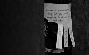 Wallpaper sheet, paper, work, paper, career, the phrase, leaf, words, post, the inscription