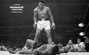 Picture victory, blow, the ring, Legend, Ali, Boxing, Wings), Mohammed, (Muhammad