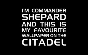 Picture the inscription, the citadel, mass effect, Shepard