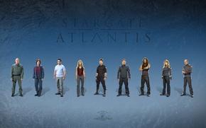 Picture The series, actors, Movies, Stargate Atlantis, Stargate Atlantis