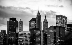 Picture new york, black and white, architecture, the big apple