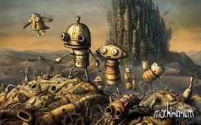 Picture robot, machinarium, indie