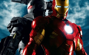 Wallpaper weapons, metal, Iron man 2, movie