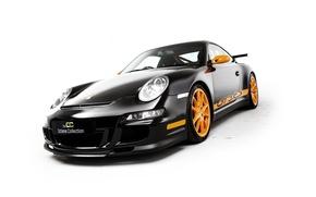 Picture 911, Porsche, white background, supercar, Porsche, GT3