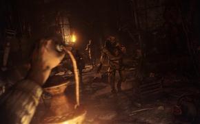 Picture darkness, darkness, monsters, the basement, amnesia, grunt, Phanar, Amnesia: The Dark Descent, gatherer, torture