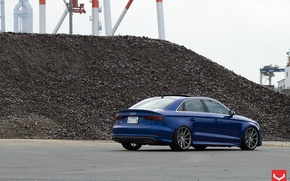 Picture Audi, tuning, Audi, sedan, Vossen, S3