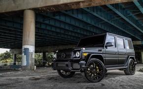 Picture Mercedes-Benz, Brabus, G63, Forgiato Wheels