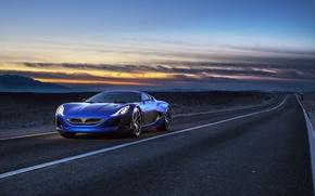 Picture Concept One, Rimac, 2014, electric car, RIMAC