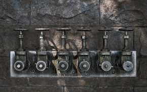 Picture macro, background, valves