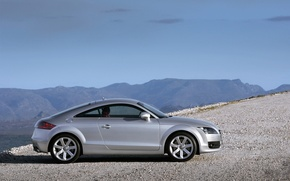 Picture road, machine, mountains, Audi, road, auto, mountains, audi tt
