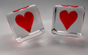 Picture love, Wallpaper, heart, Valentine's day, heart, drops, valentines day