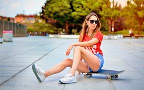 Picture Girl, Skateboard, Urban, Style, Street, Sofia, Tatiana, Portrait, Bulgaria, Ikoseomer, Portre, Shooting