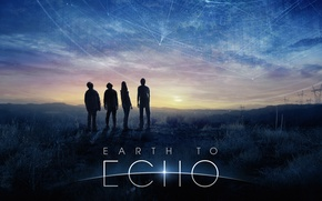 Picture Echo, Movie, 2014, Earth to Echo