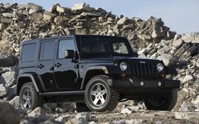 Picture black, Wallpaper, wrangler, Jeep