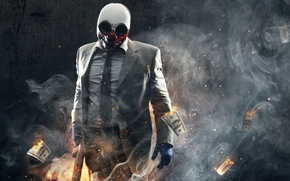 Picture wolf, heist, Payday 2, payday
