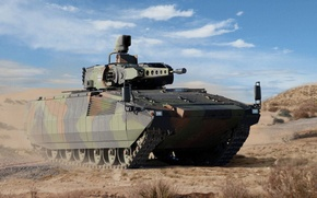 Wallpaper Puma, BMP, promising German infantry fighting vehicle, Protect tank, Puma