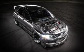 Picture Mitsubishi, Evolution, motor