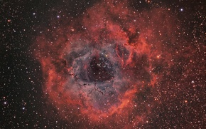 Picture space, Nebula, Outlet, Unicorn, NGC 2237, in the constellation, Rosette