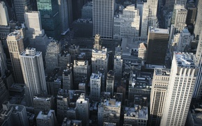 Picture city, the city, height, skyscrapers, street, new york, nyc