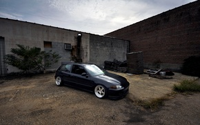 Picture Honda, Civic, Stance, Low, BellyScrapers, CCW, eg6