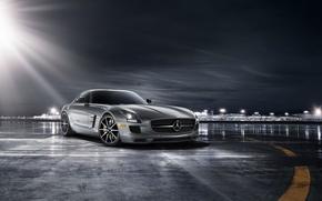 Picture car, supercar, Mercedes, amg, mercedes sls, autowalls