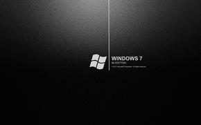 Picture Wallpaper, Windows 7, black background