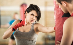 Picture fitness, boxing, classes