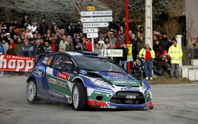 Picture Ford, Turn, WRC, Solberg, Rally, Rally, Fiesta