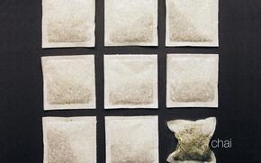 Wallpaper minimalism, tea, Bag