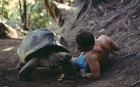 Picture turtle, guy, David Olkarny, That was a big discussion