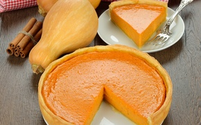 Picture pumpkin, cakes, pumpkin pie