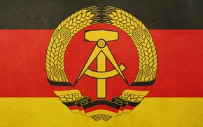 Picture Wallpaper, Germany, Flag, GDR, The Flag Of Germany