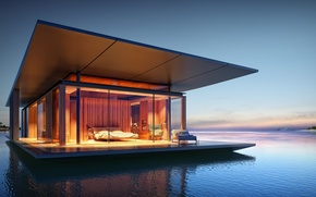 Picture Room Design, Architecture Design, Floating House, Houseboat Ideas, Dream Home, Scenic View