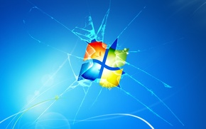 Picture computer, Wallpaper, logo, Windows, windows 7, emblem, Windows 7, windows7, hi tech, operating system, видовс7, …