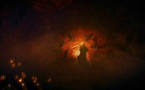 Picture fire, dark souls, dark souls, dark souls, dead souls, dead souls, witch Italica, witch of …
