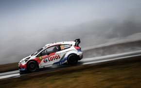 Picture ford, rally, wrc, fiesta, Kubica, 2014