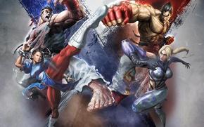 Picture Fighting, Street Fighter x Tekken, Pastgen