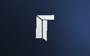 Picture Logo, Game, Team, Minimalism, CSGO, Counter-Strike: Global Offensive, CS:GO, Titan, vent designs, Esports