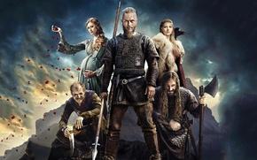 Picture the series, heroes, warriors, Vikings, The Vikings